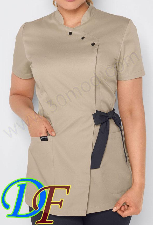 عباءة طبية ثوب الرضاعة | ملابس المستشفى صالون تجميل روب 1400