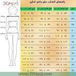 Read more about the article طریقه اندازه گیری مانتو شلوار اداری + مانتو شلوار فرم 1400
