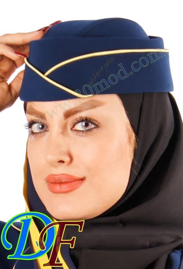 مدل کلاه مهمانداری - خرید کلاه مهمانداران هواپیمایی